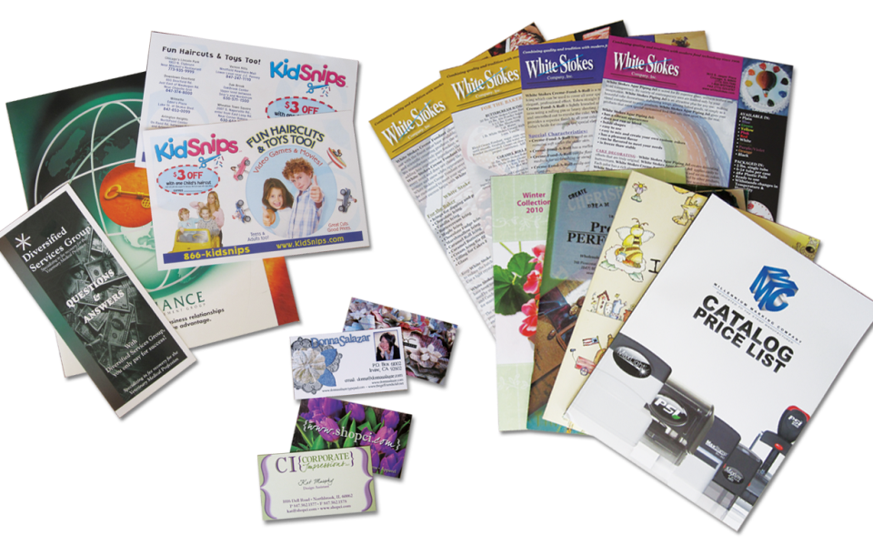 Digital and offset printing services San Fernando Valley
